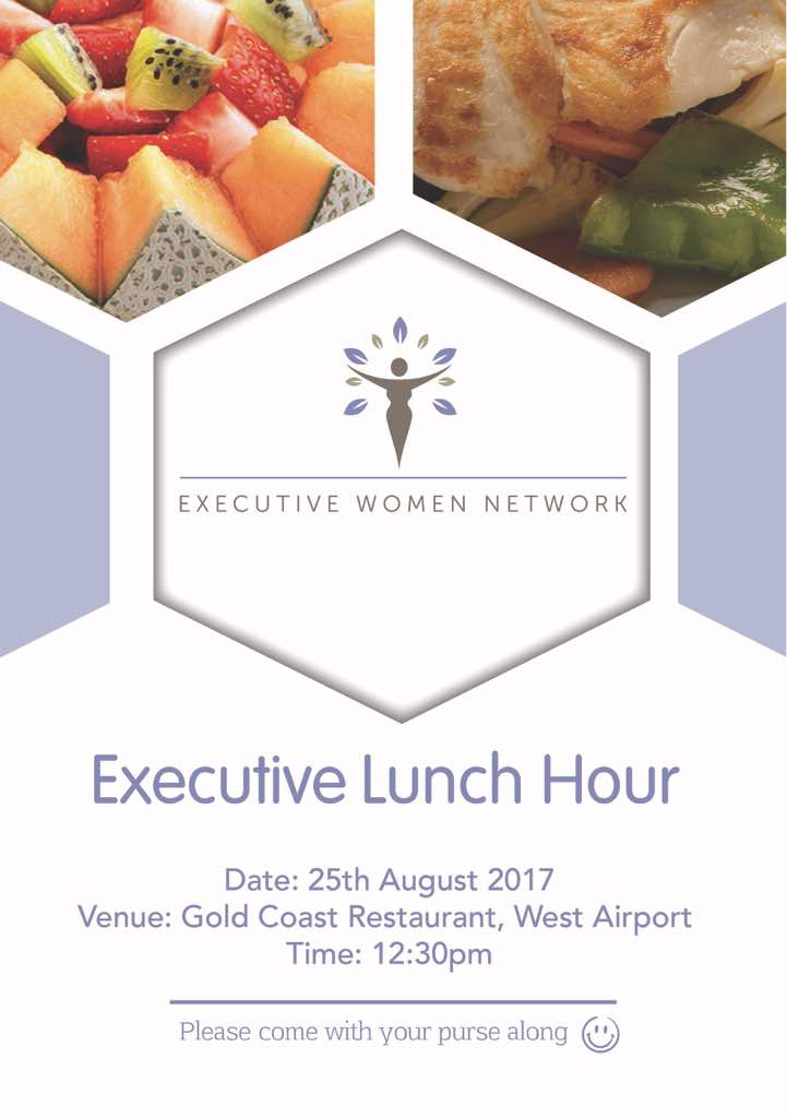 Executive Lunch Hour – 25 August 2017